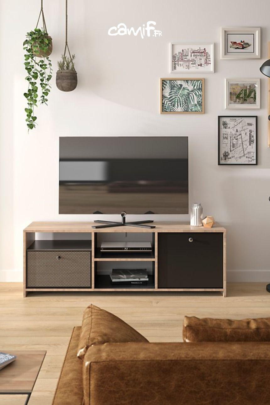 Banc Tv Gaston Camif Fr Banc Tv Architecte Interieur Idee De Decoration