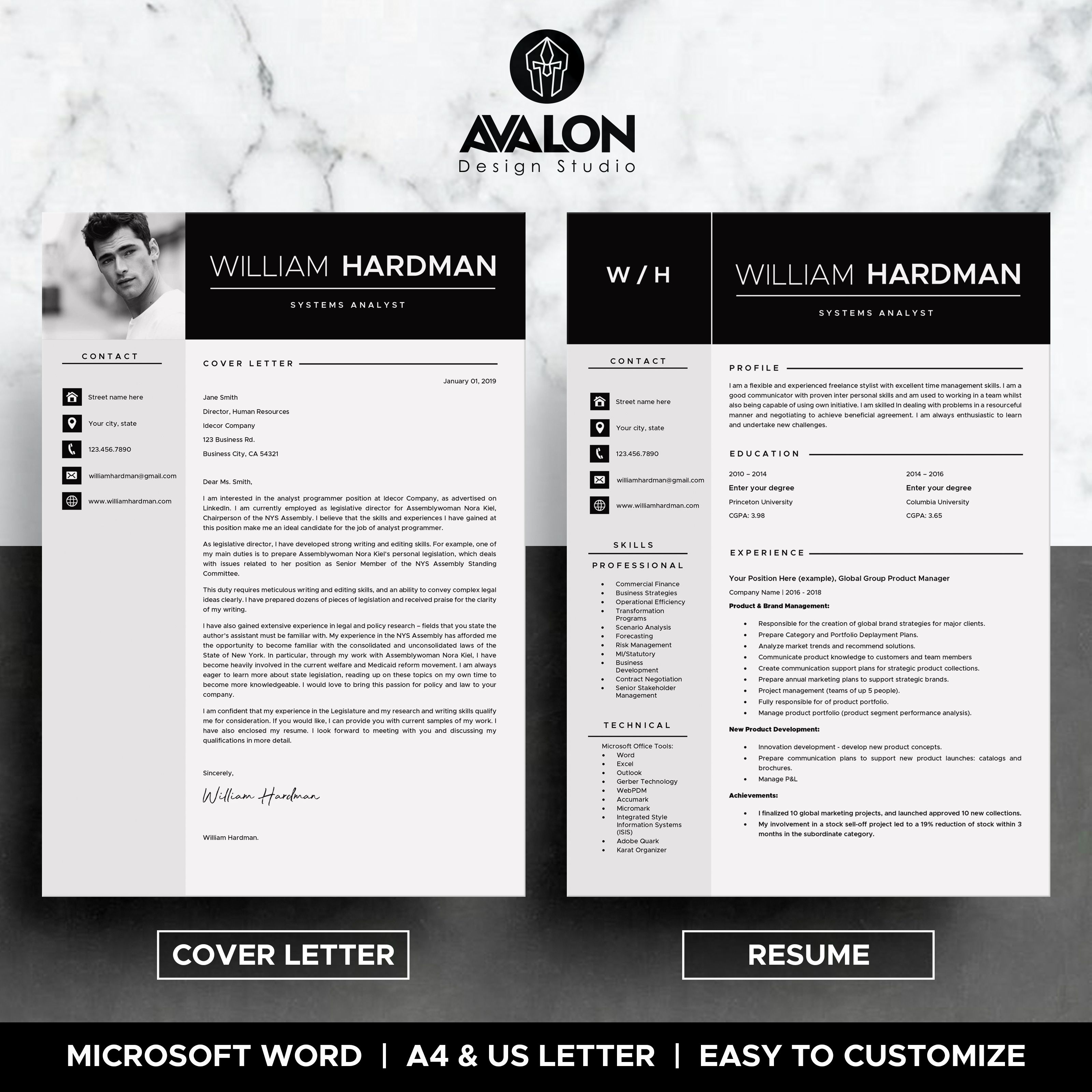 resume template for ms word 4 page professional cv format medical student letter teacher job freshers pdf