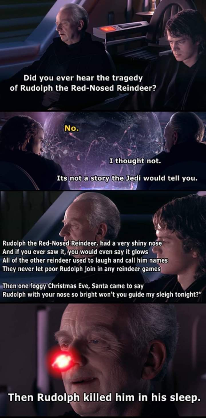 Pin By Mark Hryniw On Don T Underestimate The Force Funny Star Wars Memes Star Wars Jokes Star Wars Humor