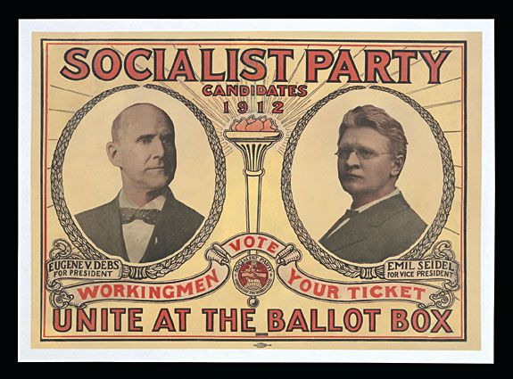 Eugene V. Debs, candidate of the Socialist Party of ...