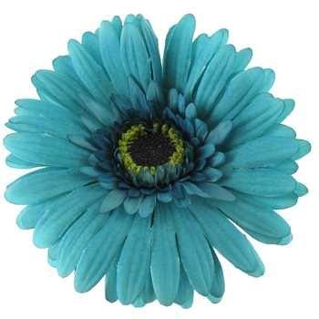 Turquoise Botanic Artistry Gerbera Daisy Stem