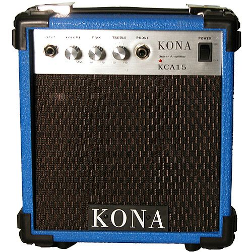 Kona KCA15BL 10 Watt Amplifier 5 inch Speaker 1 Input - Blue