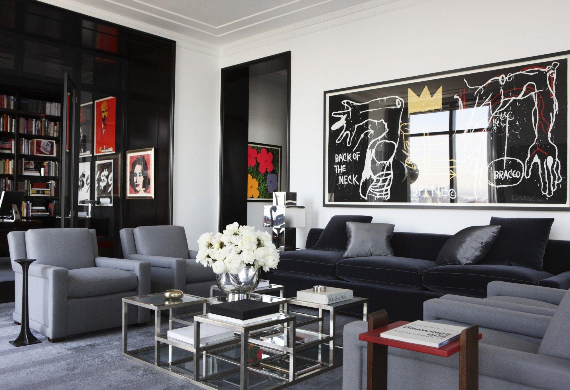 Mark Cunningham Inc Apartment Decor Masculine Interior Design Home