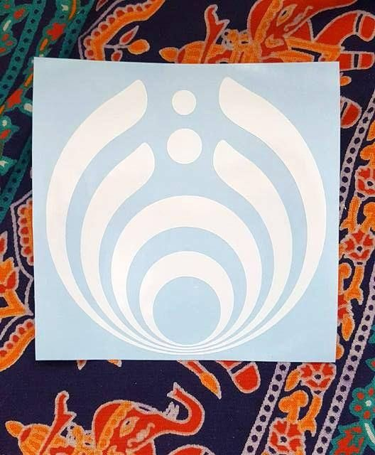 Bassnectar vinyl sticker jam band stickers music festival gear