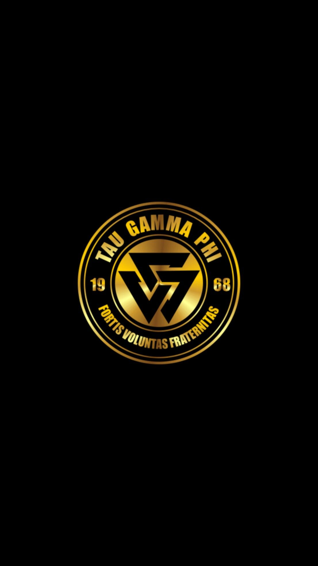 Triskelion Tau Gamma Wallpaper Gold 50 Android Iphone Tau Gamma Gamma Phi Tau