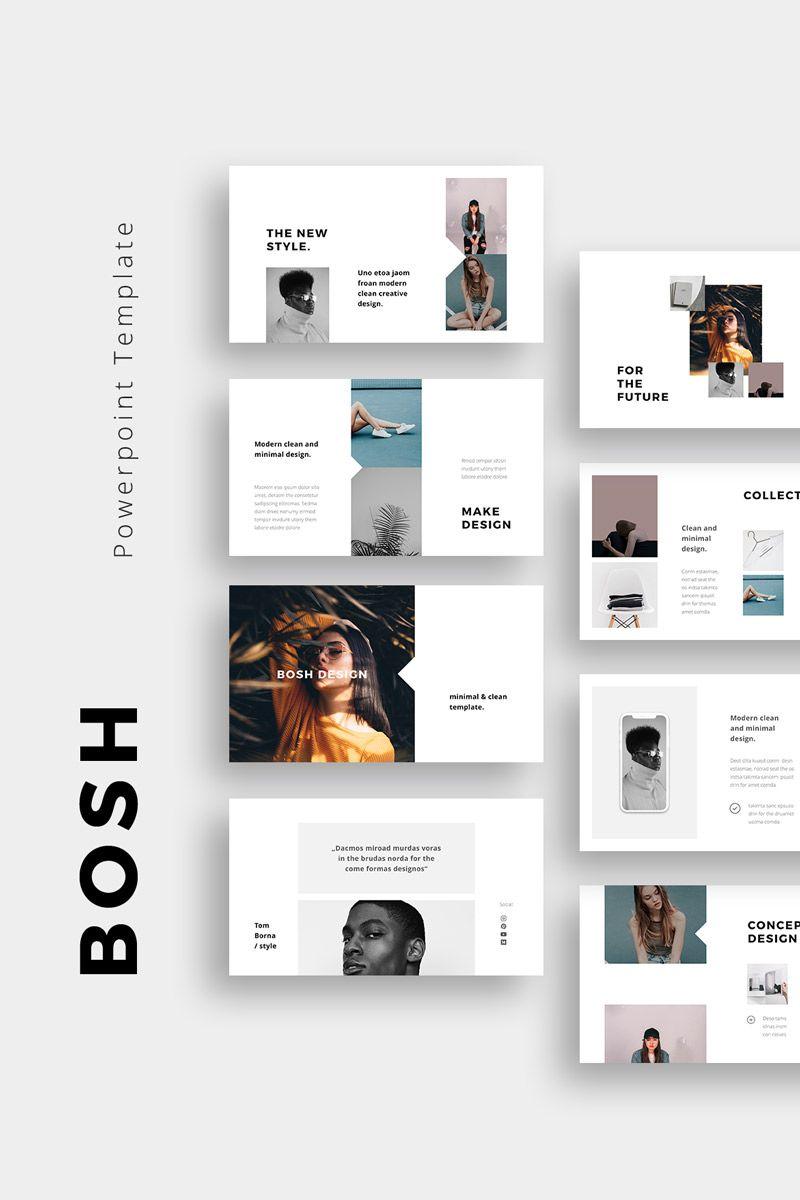 Bosh Powerpoint Template 75404 Simple Powerpoint Templates Keynote Template Creative Powerpoint Templates