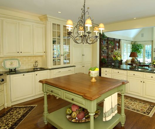English Country Style Kitchen Renovation In South Jersey