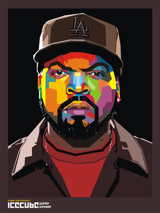 Ice Cube Rapper Art Hip Hop Art Hip Hop Artwork