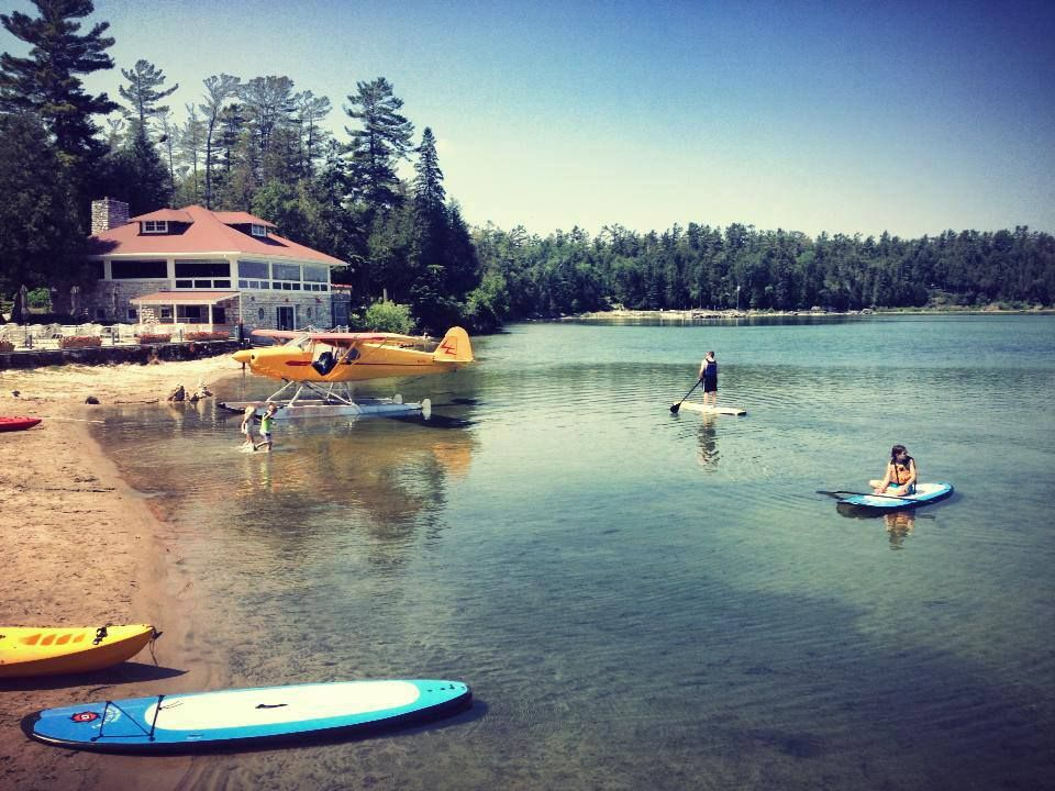Stand Up Paddleboarding At Gordon Lodge In Door County