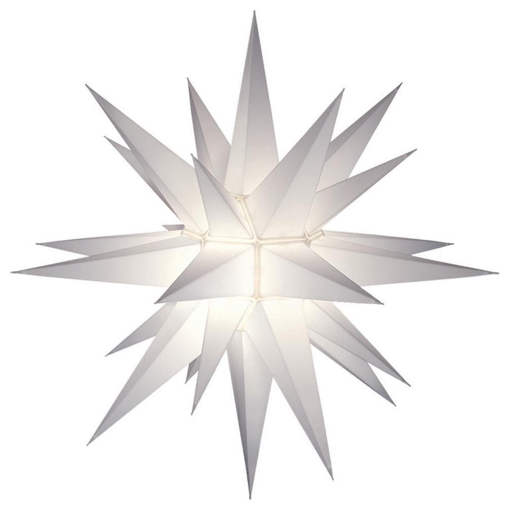 12 in. Illuminated LED Holiday Star and Tree Topper-5200LED - The ...