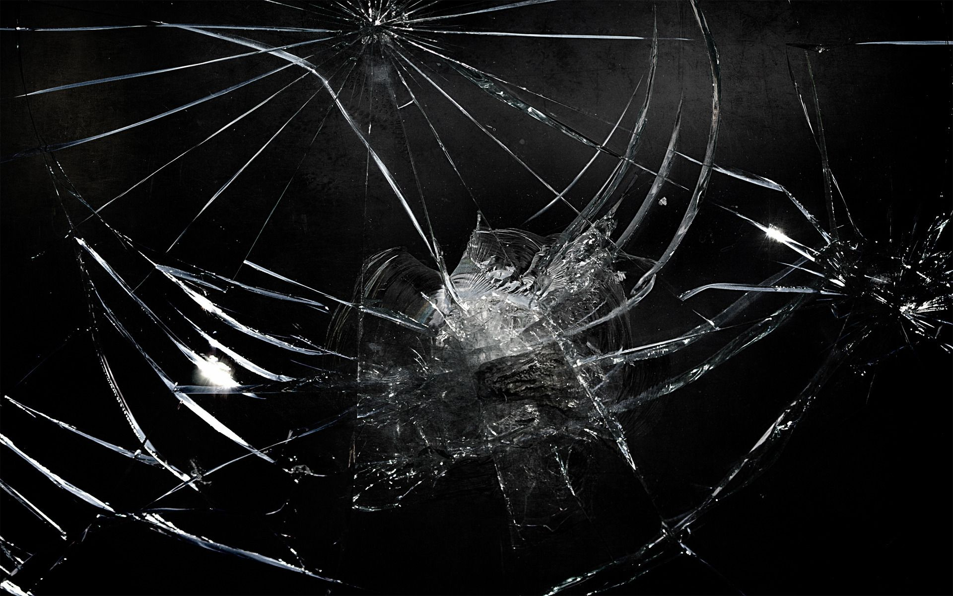wallpaper: Windows Broken Glass Wallpapers