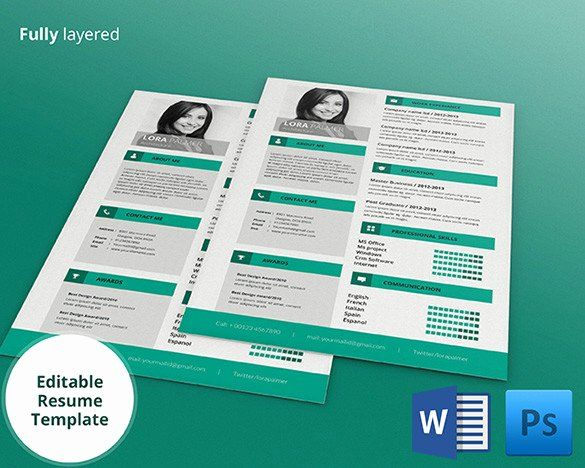 40 resume templates for mac in 2020  with images