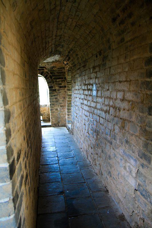 passage way at great wall