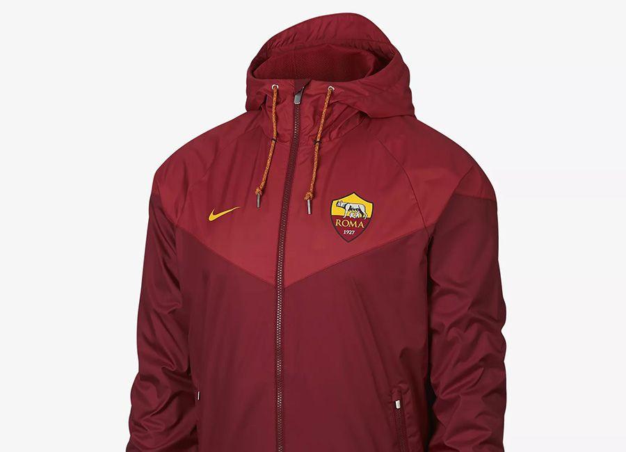 5953eed15 #football #soccer #futbol #asroma #forzaroma Nike AS Roma Windrunner - Team  Red / Team Crimson / University Gold