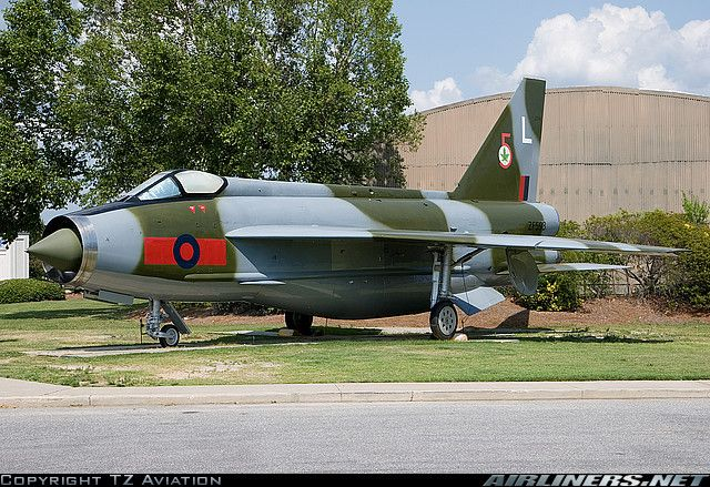 English Electric Lightning F53 aircraft picture