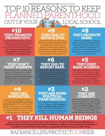 TOP 10 REASONS\ - political brochure