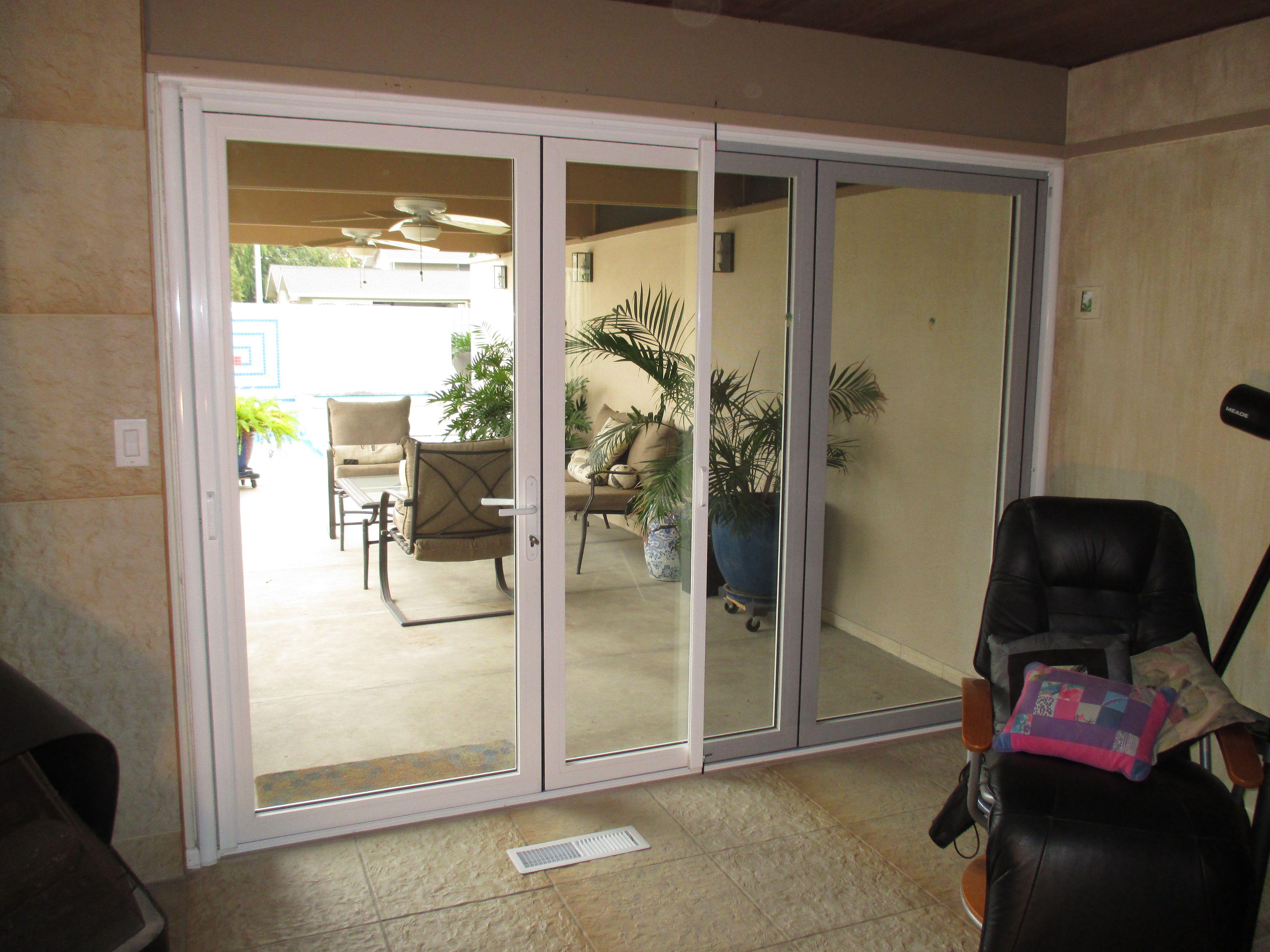 accordion glass doors with screen. bi-folding glass doors (swing out) with a stowaway retractable screen double door accordion