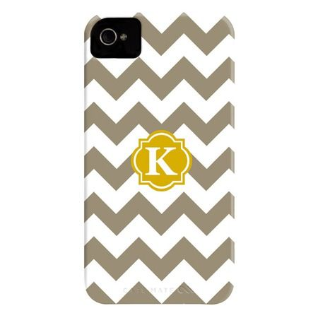 gray chevron iphone case