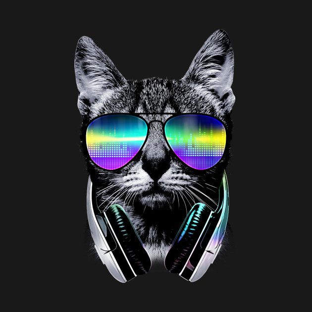 Cat Wallpapers For Iphone: Check Out This Awesome 'Music+lover+cat' Design On
