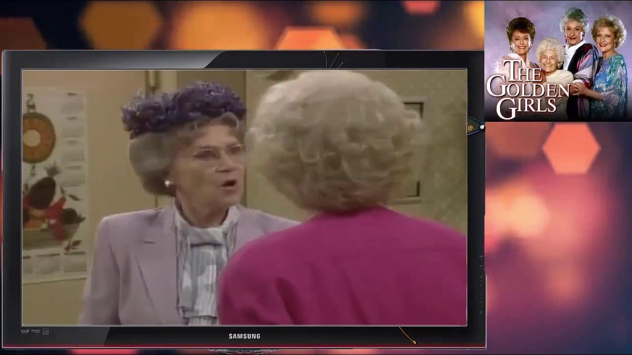 ᴴᴰ The Golden Girls S1E9 Blanche and the Younger Man