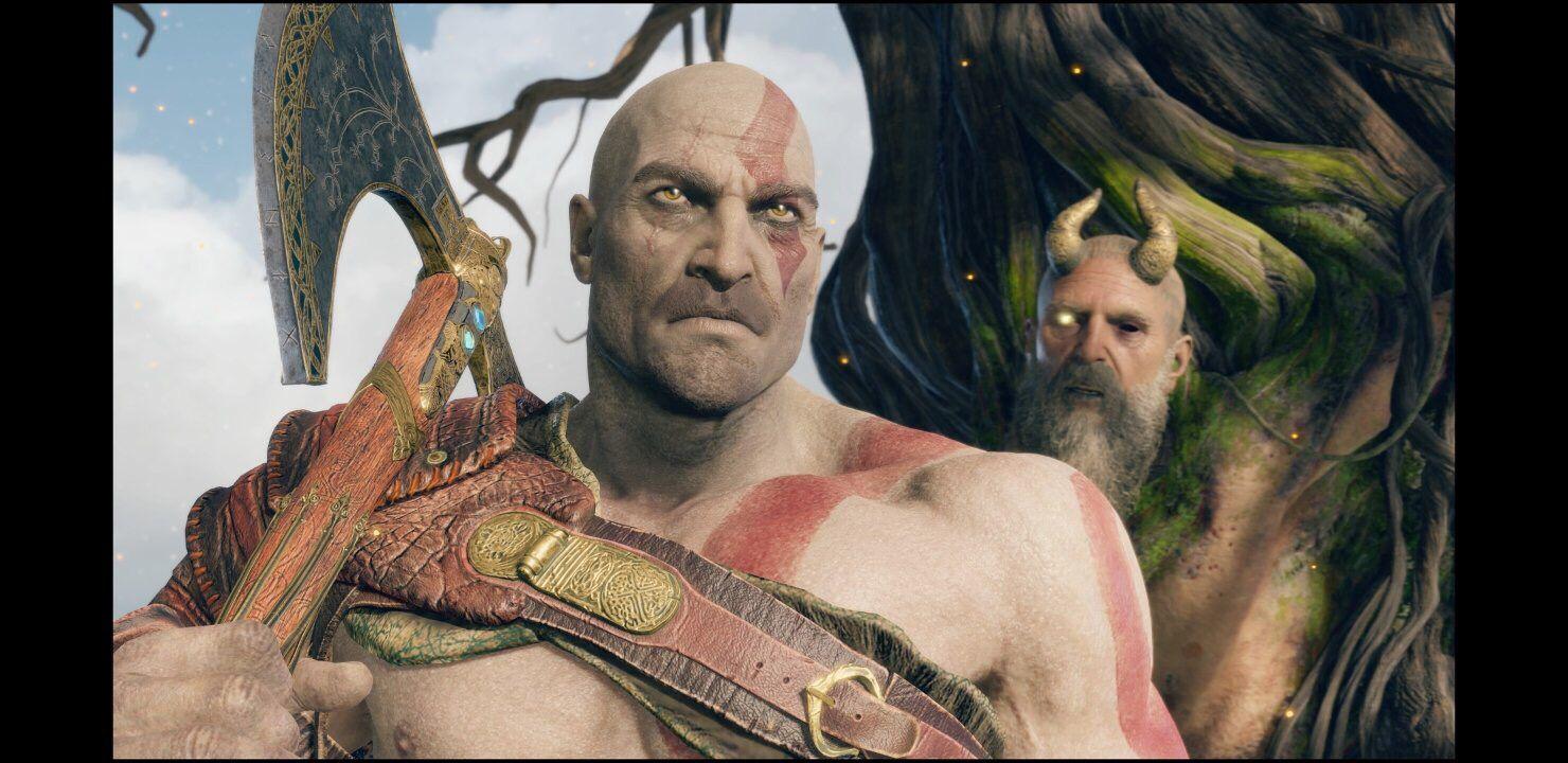 God Of War Kratos Without Beard Gow God Of War