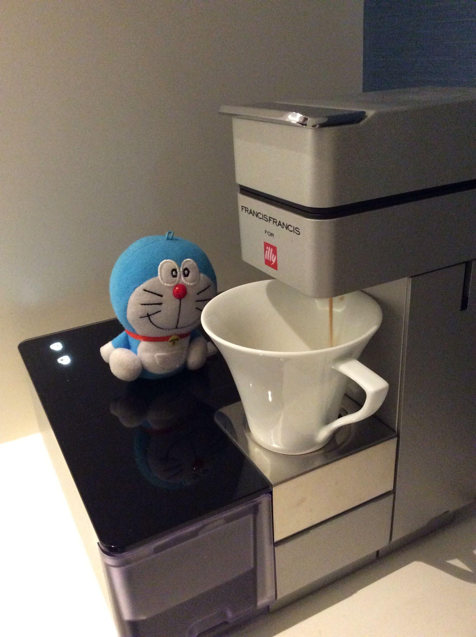 My Doraemon Morning Cup Of Coffee Coffee Cups Coffee Doraemon
