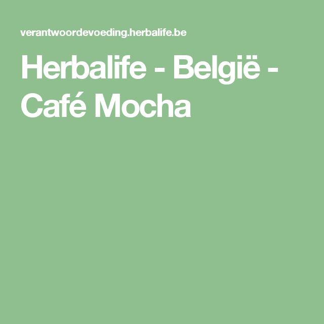 Herbalife - België - Café Mocha