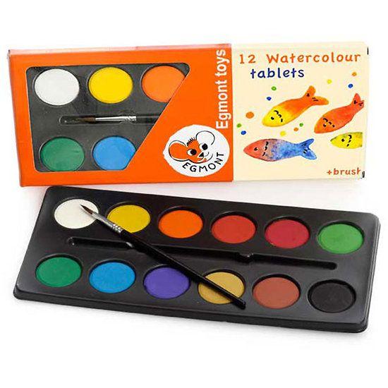 Palette 6 Couleurs Peinture À L'Eau Enfant - 6.00€   B As  Back