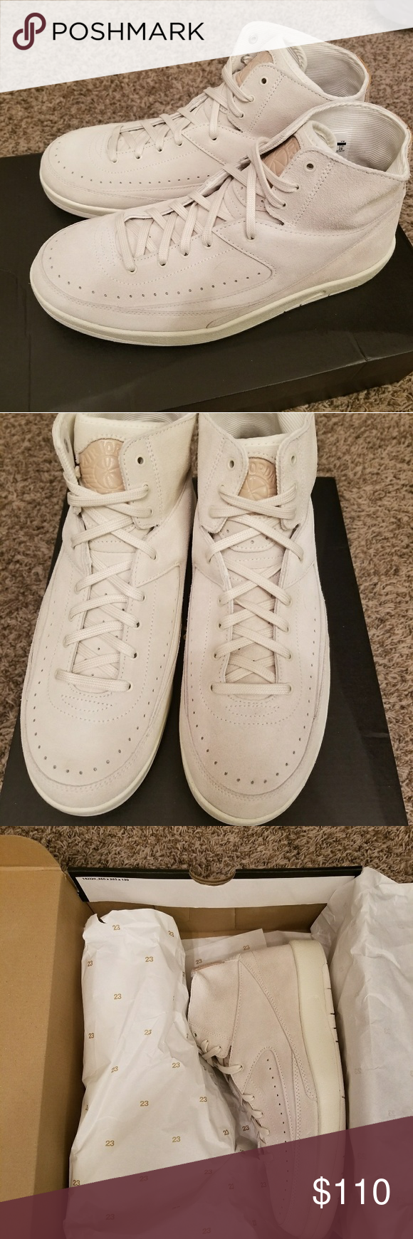 brand new cbae9 0a21b New Air Jordan 2 Retro Decon 898521-100 Size 10 Air Jordan 2 ...