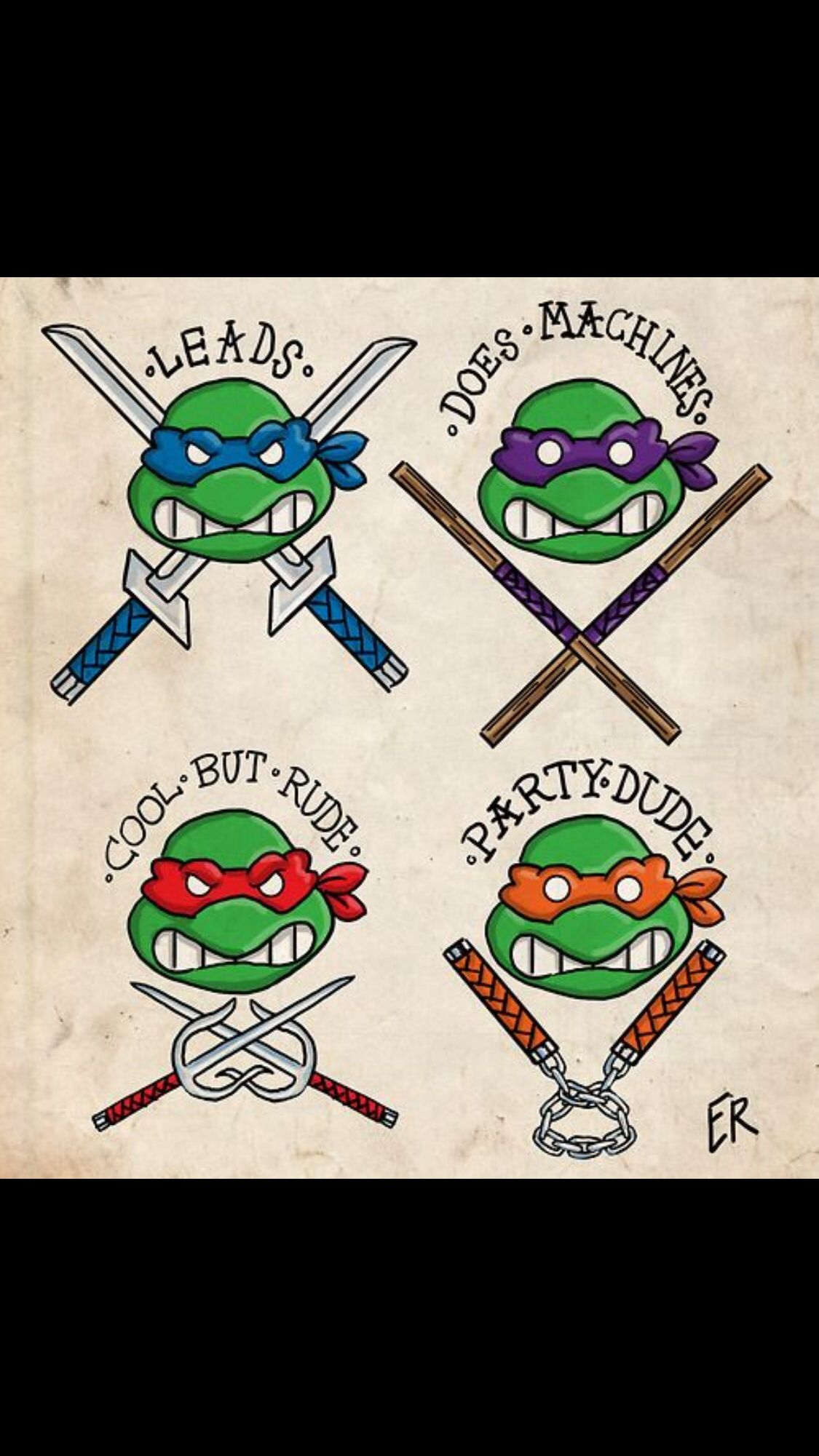 Tmnt Tattoo Idea Ninja Turtle Tattoos Tmnt Turtle Tattoo