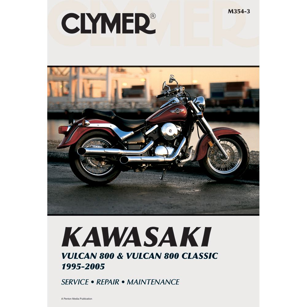 Clymer Kawasaki Vulcan 800 & Vulcan 800 Classic (1995-2005