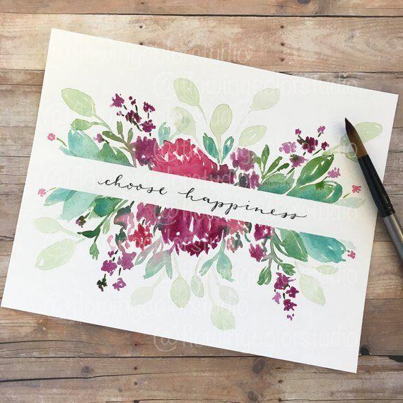 467 Best Watercolors images in 2019 | Watercolor, Watercolor flowers, Floral watercolor