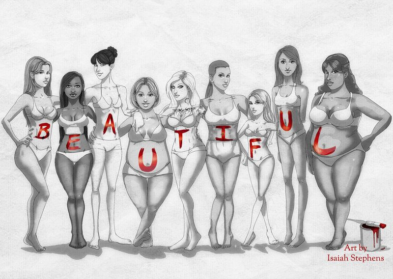 """jollyrogers777: """"ALL of you are beautiful """""""