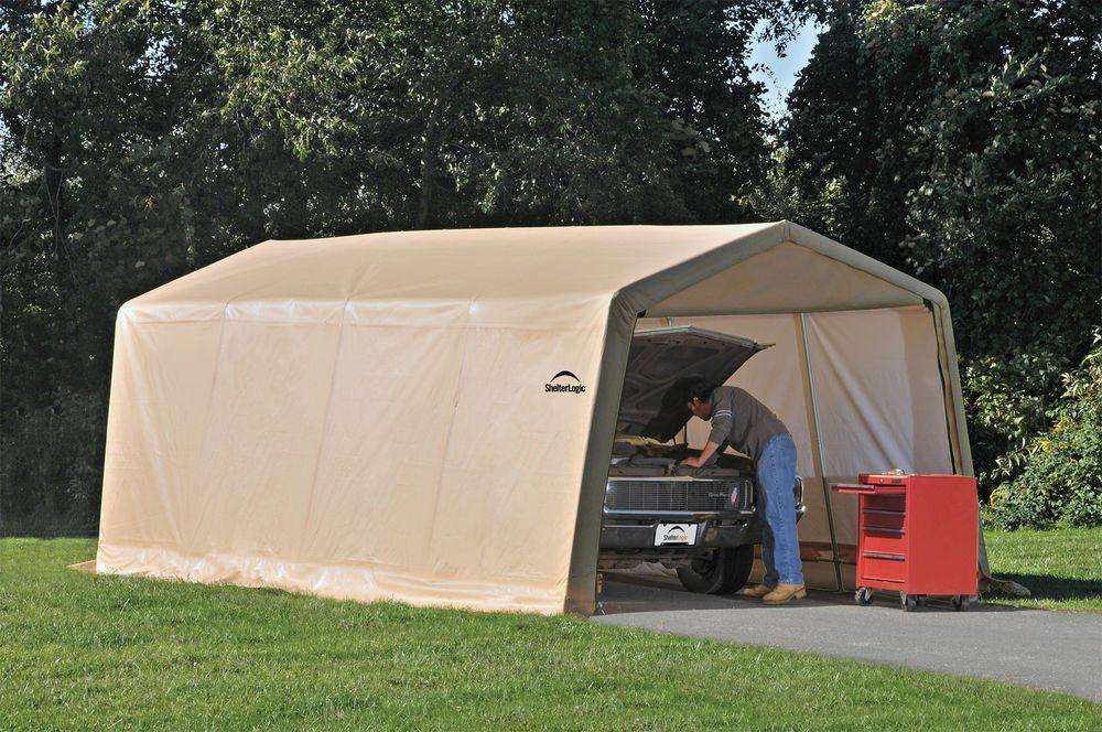 ShelterLogic Instant Car Garage Kit 10x20 Portable Pop Up