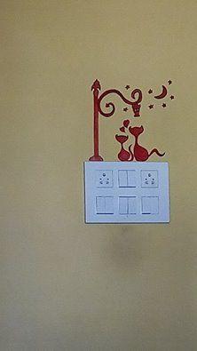 Switchboard Art Home Decor In 2019 Wall Decor Wall Tattoo