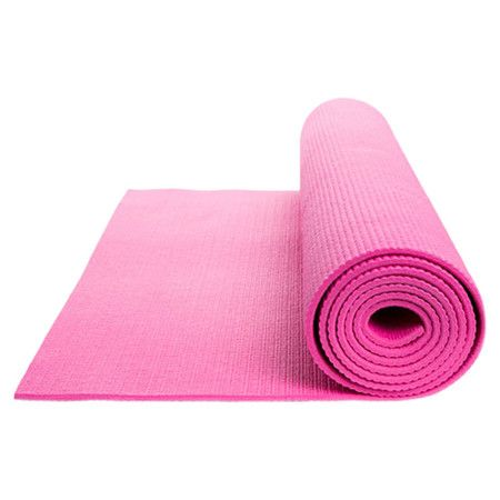 Extra Thick Yoga Mat In Hot Pink Extra Thick Yoga Mat Diy Yoga Mat Cleaner Thick Yoga Mats