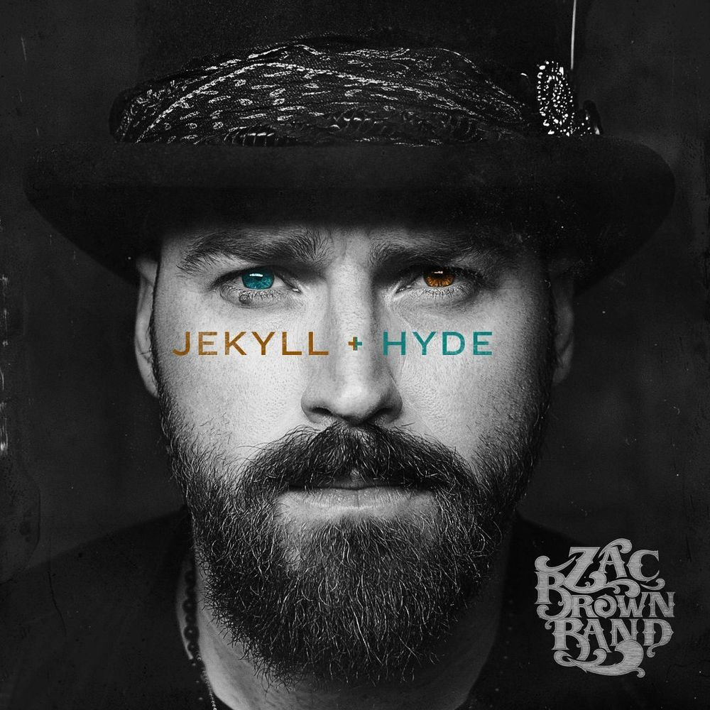 Jekyll Hyde Lp Vinyl Zac Brown Band Brown Band