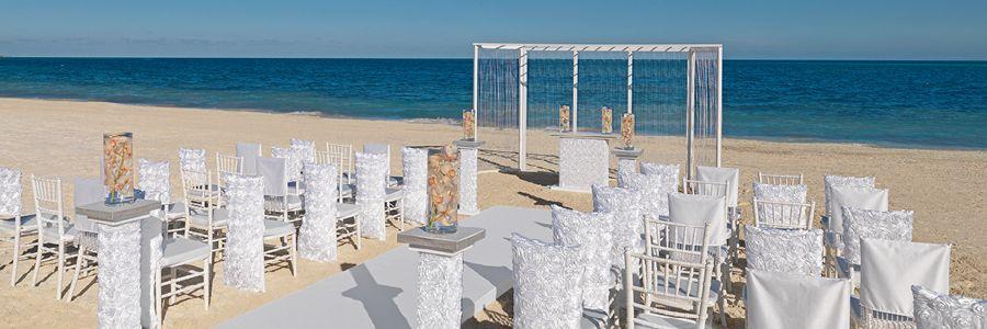 White Rosette Hard Rock Punta Cana All Inclusivewedding