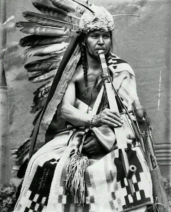 Black Eagle. A Nez Perce man. 1900