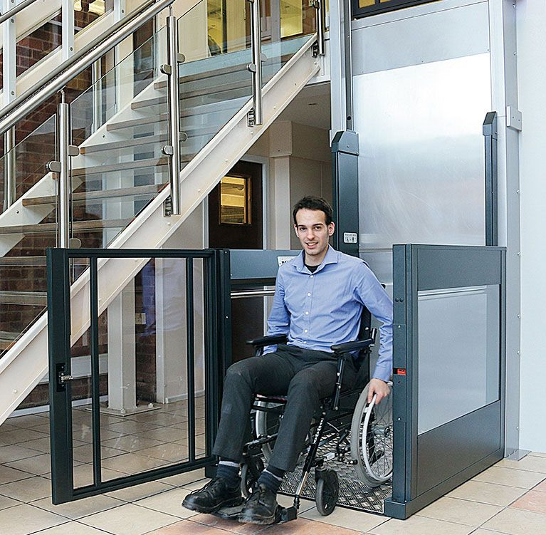 Platform Lifts Wheelchair Stairlifts For Disabled Users Commercial Domestic Elevator Design House Lift Automatic Gate