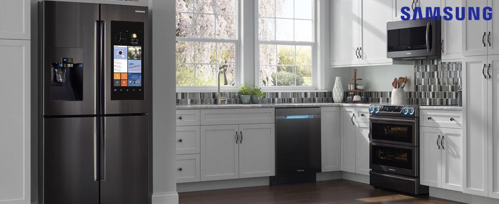Samsung Kitchen Appliances | Southwestern Cabinet | Pinterest | Tv ...