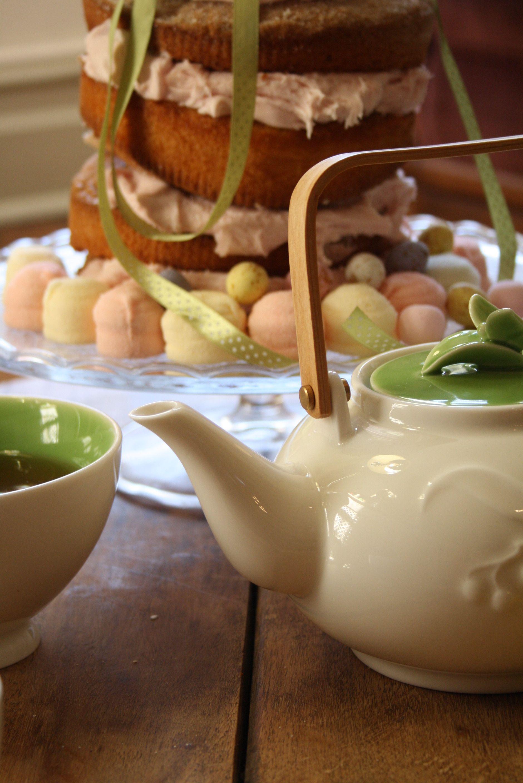 #AlisonAppleton #Woodland #Teapot #Teacups #Flower #Spring #Fresh #Easter #Ceramics #Tea #Flowers #Cake