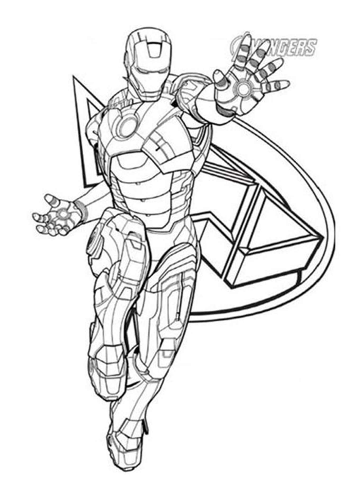 Free Easy To Print Iron Man Coloring Pages Coloring Pages Iron Man Drawing Superhero Coloring Pages