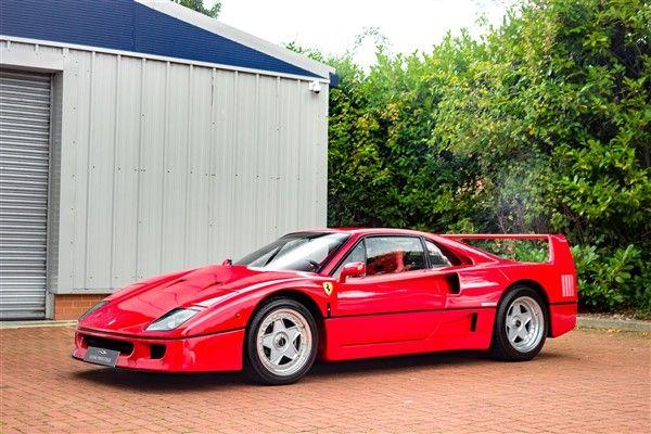 1992 Ferrari F40 Classiche Certified Classic Cars Pinterest