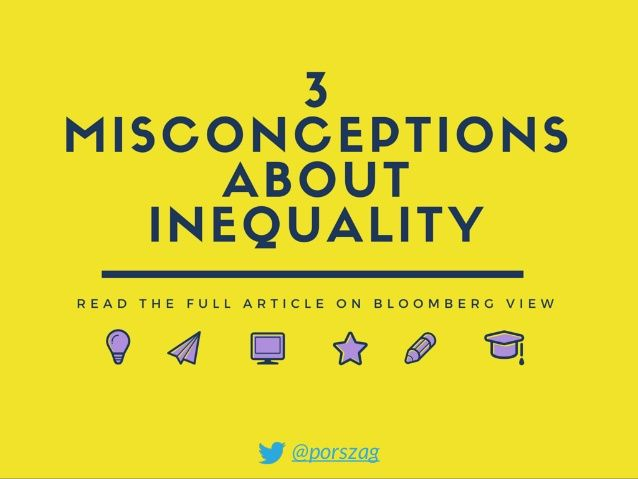 3 Misconceptions About Inequality Inequality Misconceptions Reading