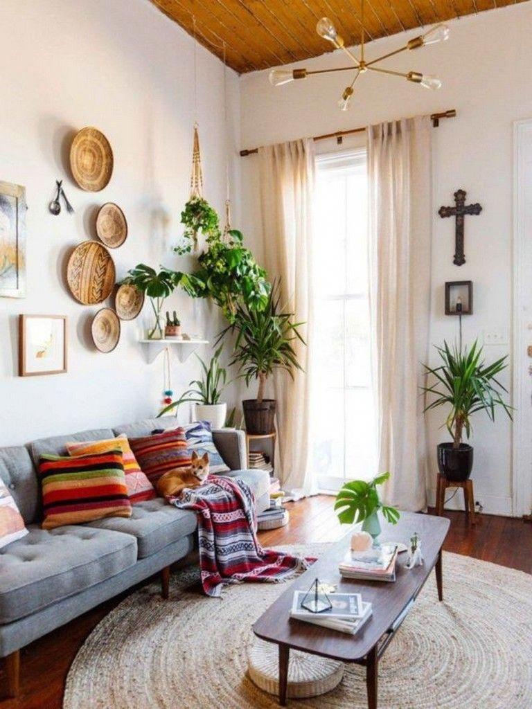 que te parece como queda decoracionconplantasvintage on cozy apartment living room decorating ideas the easy way to look at your living room id=37965