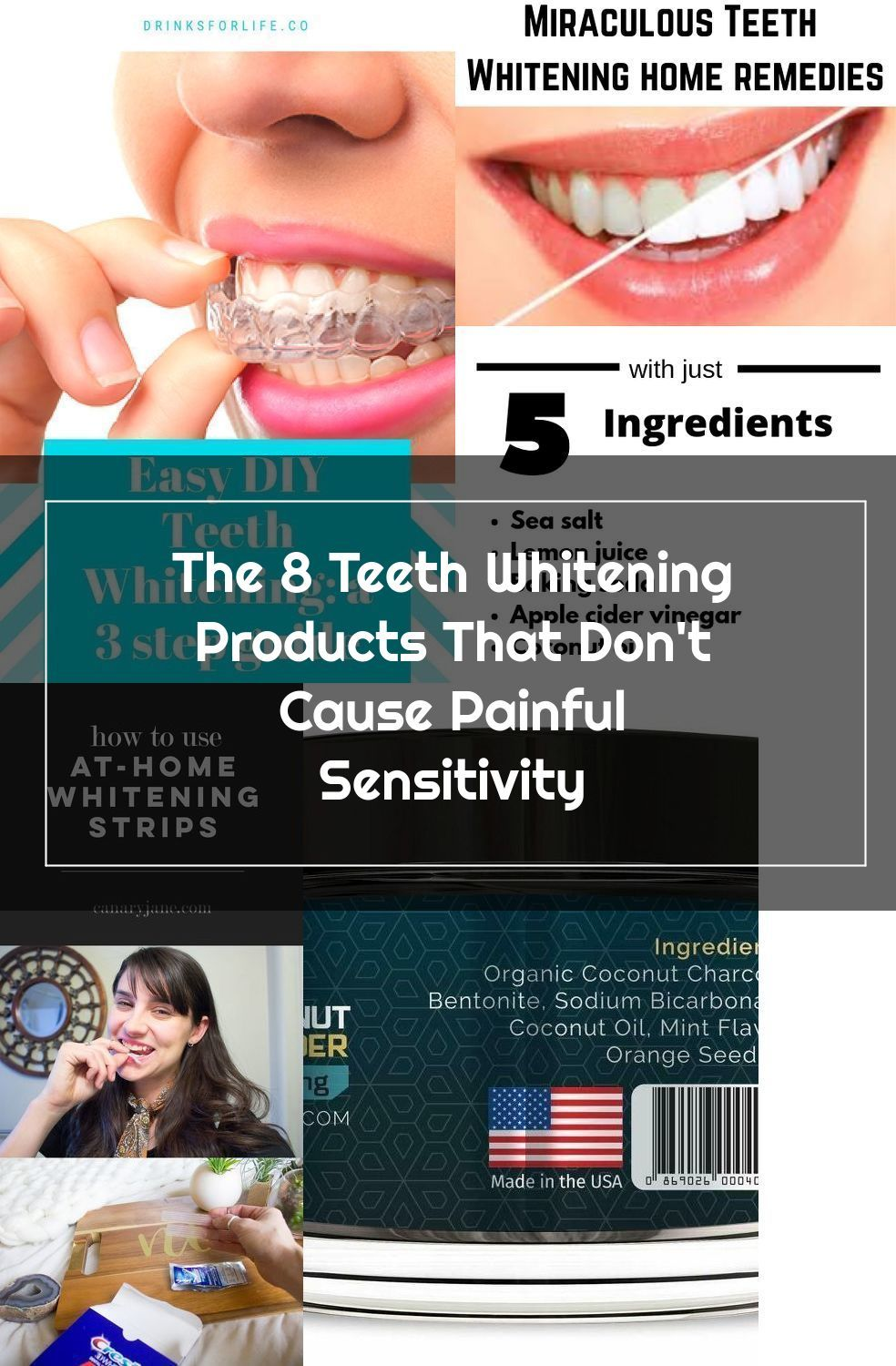 Check out my at home 3 step teeth whitening guide, teeth