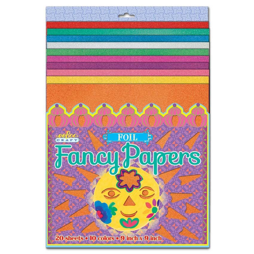 Foil Fancy Paper | eeBoo