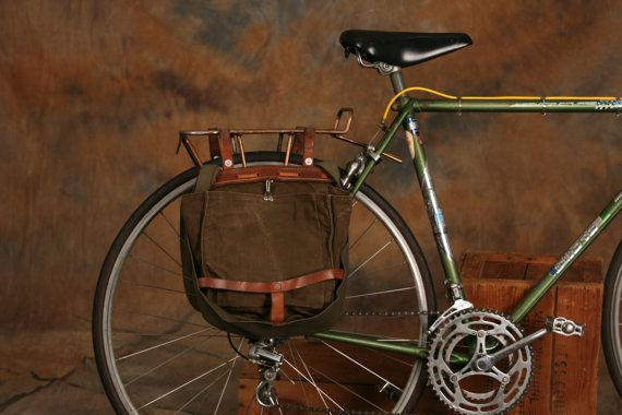 Vintage Swiss Saddlebags Panniers Set By Reclamationdept On Etsy 80 00 Bicycle Panniers Bicycle Pannier