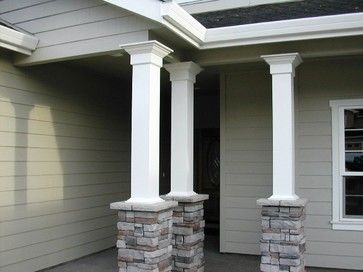 Porch Columns Design Ideas Pictures Remodel And Decor Page 65 Porch Columns Front Porch Columns Column Design Ideas